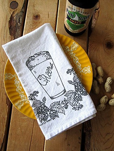 Cheers Screen Printed Cloth Napkins - Set of 4