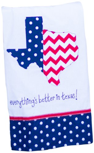 Glory Haus Everything's Better in Texas Tea Towel, 19 by 25-Inch