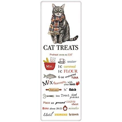 Lucy Kitty Cat Treats Recipe Towel