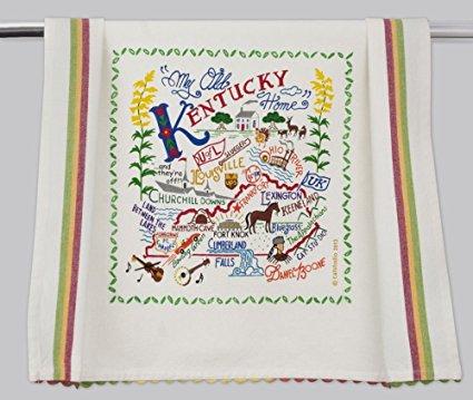 Catstudio Kentucky Dish Towel - Original Geography Collection Décor 025D(CS)
