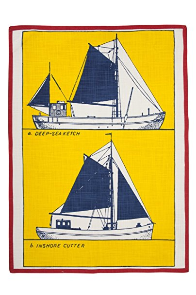 thomaspaul Cutter Tea Towel, 20 by 28