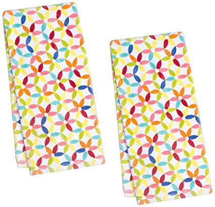 Fiesta Petite Floral Kitchen Towel, Set of 2