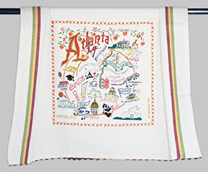 Catstudio Atlanta Dish Towel - Original Geography Collection Décor 084D(CS)