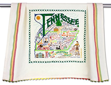Catstudio Tennessee Dish Towel - Original Geography Collection Décor 052D(CS)