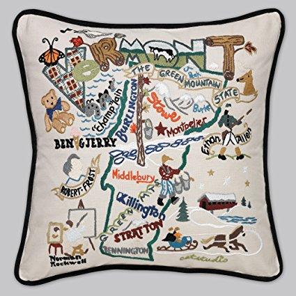 Catstudio Vermont Pillow * Original Geography Collection