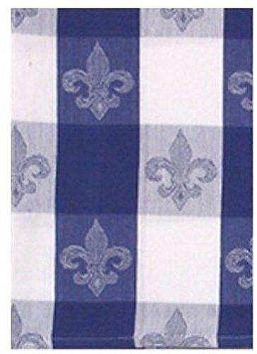 100% Cotton Blue & White 20