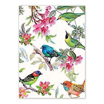 Michel Design Works TOW296 Cotton Kitchen Dish Towel, Bird Song