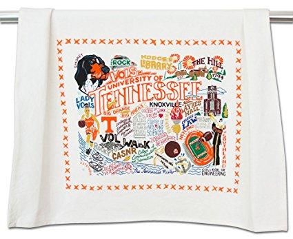 TENNESSEE, UNIVERSITY OF COLLEGIATE DISH TOWEL - CATSTUDIO