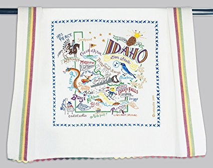 Catstudio Idaho Dish Towel - Original Geography Collection Décor 019D(CS)
