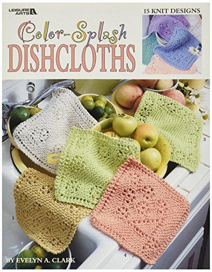 Leisure Arts-Color-Splash Dishcloths