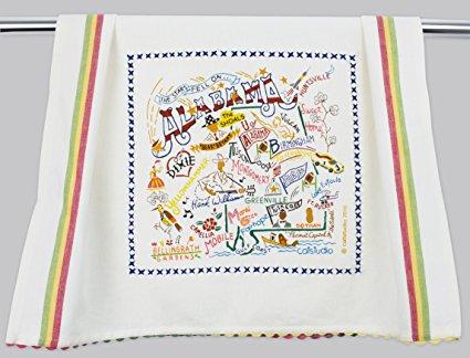 Catstudio Alabama Dish Towel - Original Geography Collection Décor 001D(CS)
