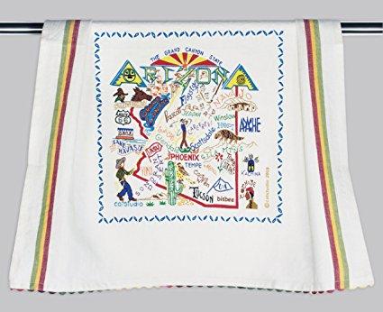 Catstudio Arizona Dish Towel - Original Geography Collection Décor 003D(CS)