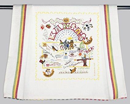 Catstudio Kansas Dish Towel - Original Geography Collection Décor 024D(CS)