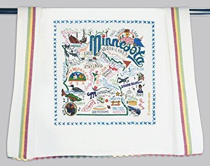 Catstudio Minnesota Dish Towel - Original Geography Collection Décor 032D(CS)