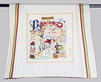 Catstudio Dallas Dish Towel - Original Geography Collection Décor 069D(CS)